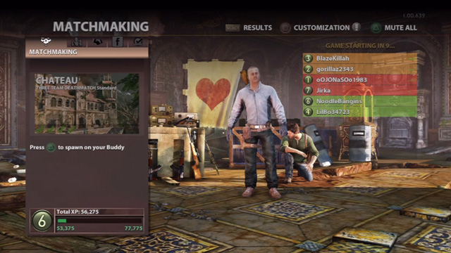 matchmaking uncharted 2 Review uncharted 2: among thieves king robust party system allows players to remain with their friends in matchmaking and custom matches news uncharted.