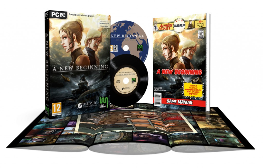 A New Beginning retail edition contents