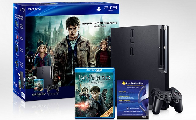 Harry Potter 3d Ps3 Bundle Coming This Week Gotgame