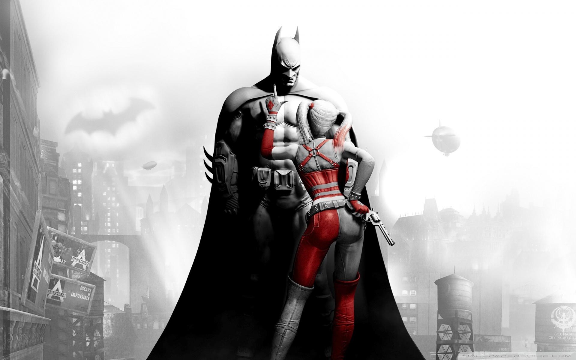 Harley Quinn Arkham City Wallpaper