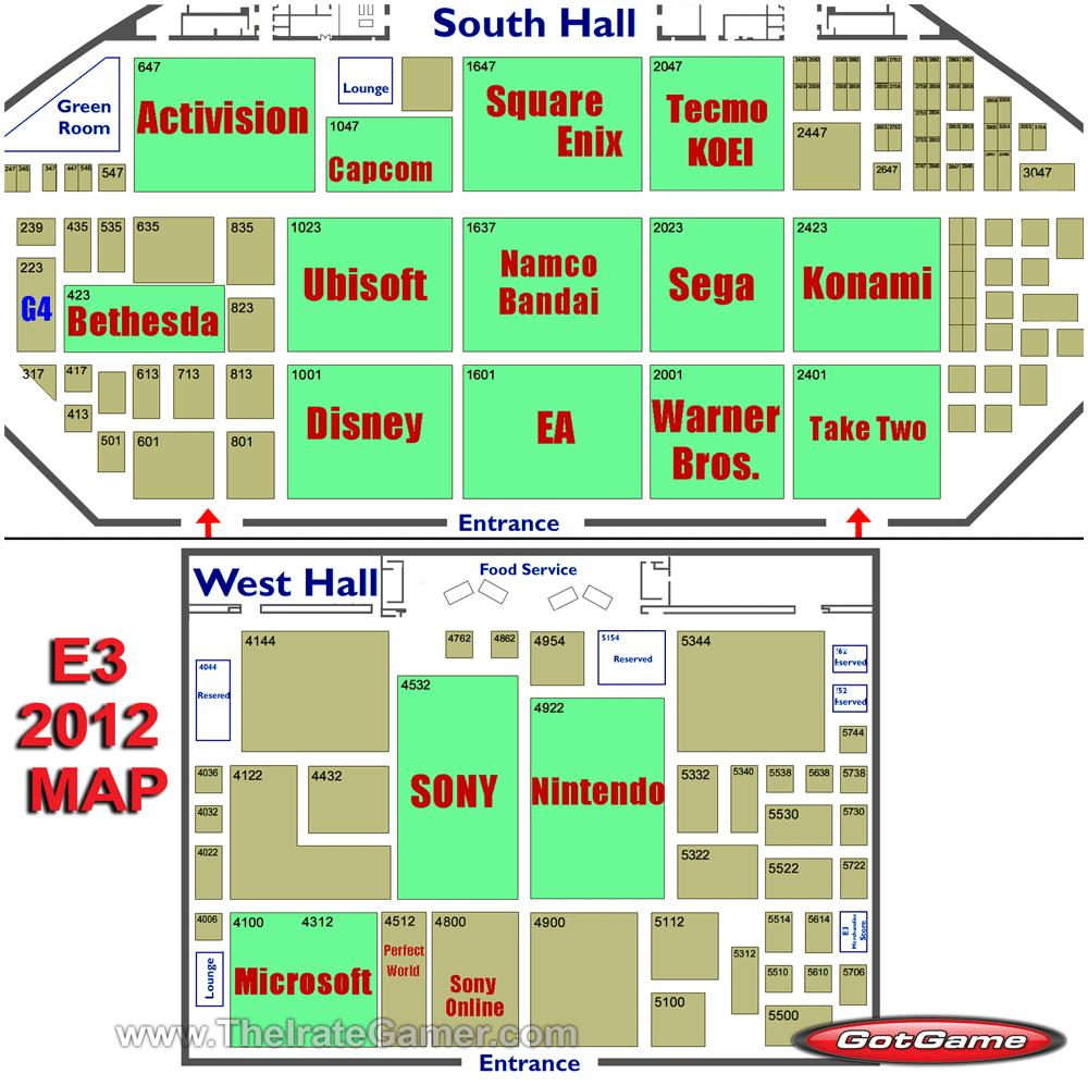 E3 2012 Map