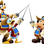 Kingdom Hearts 3D Three Musketeers