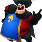 Kingdom Hearts 3D Musketeer Peat
