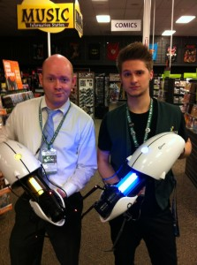 Two guys with portal guns