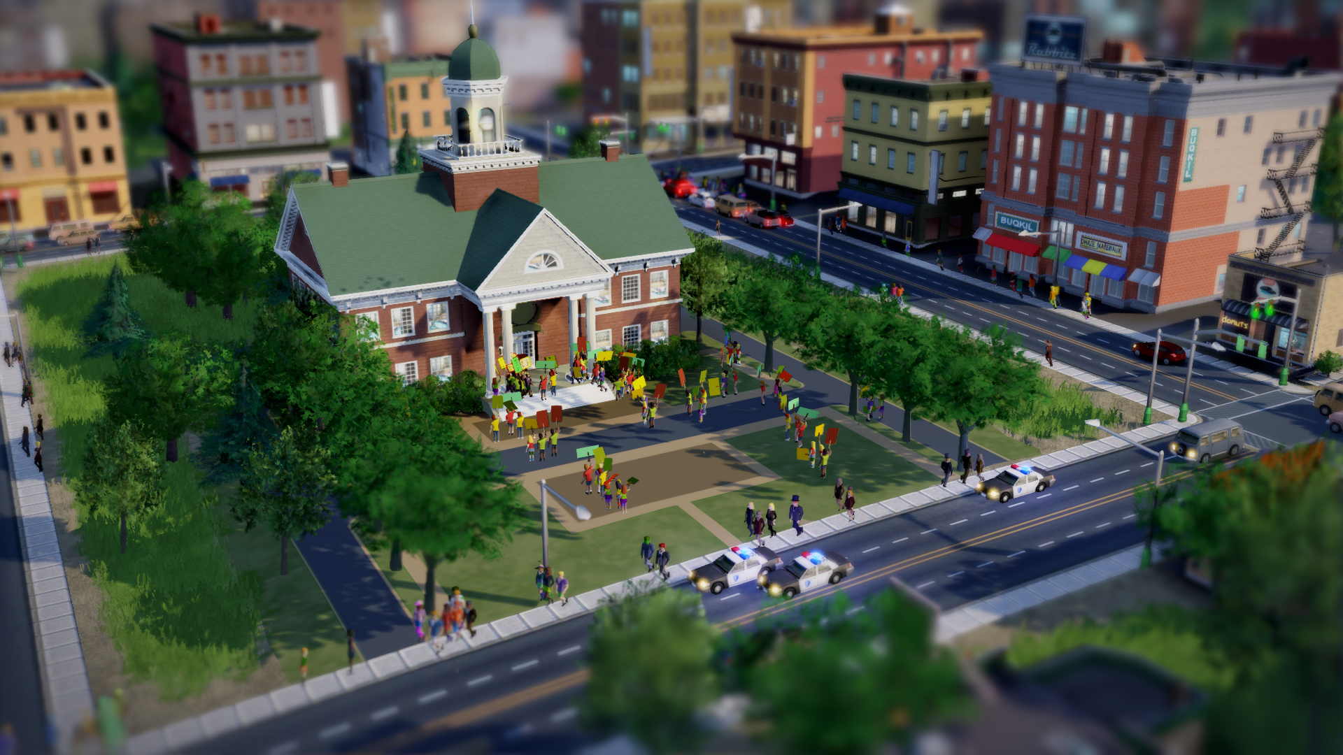 SimCity - City Hall Day