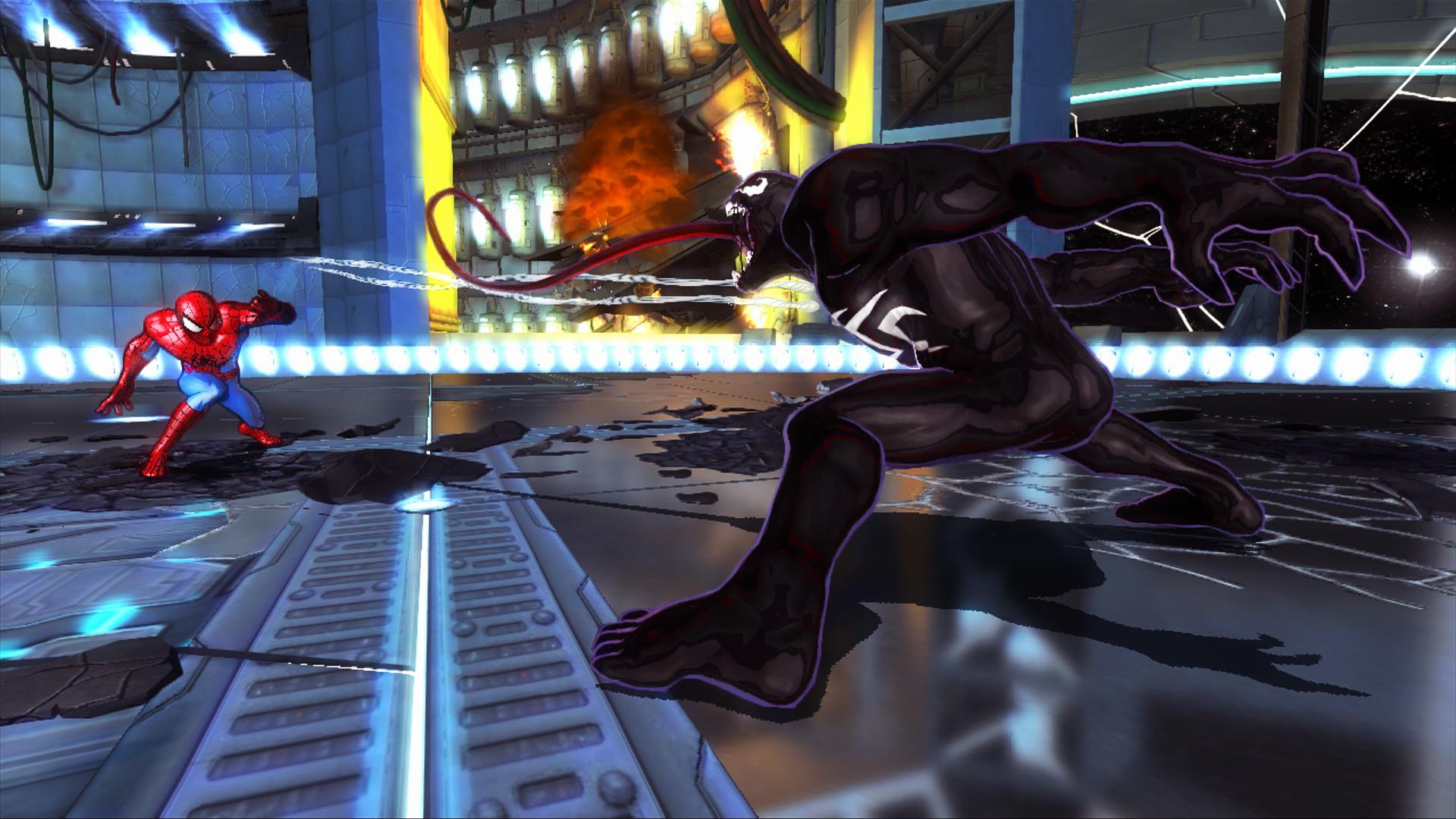 Venom v spider man gotgame