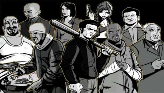 GTA 3 Characters