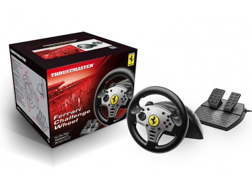 Thrustmaster Unveils New Ferrari Challenge Wheel for PS3  : challengepc ps3 packagingproduct PC Gaming Chair <strong>On Wheels</strong> from gotgame.com size 513 x 378 png 188kB