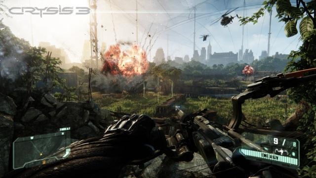 Crysis3PC نگاهی به معروف ترین بازی های سال 2013