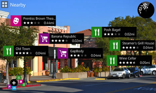 The City Lens app is just one of the killer apps that can be found on Nokia Phones.