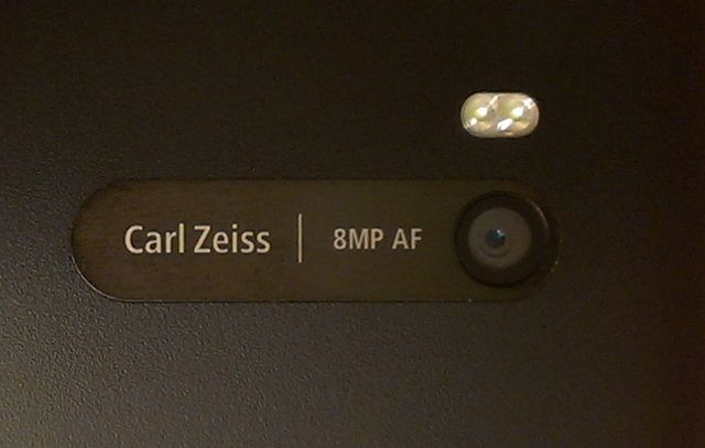 The 8MP Camera with a 26mm f/2.2 Carl Zeiss Lens is capable of taking some great shots.