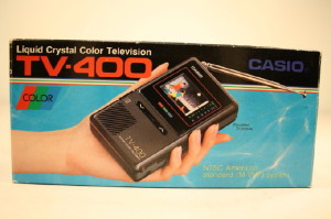 The good old days. RCA's new mobile TV will like be a slight upgrade from this one.
