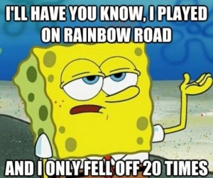 RainbowRoadSpongebob
