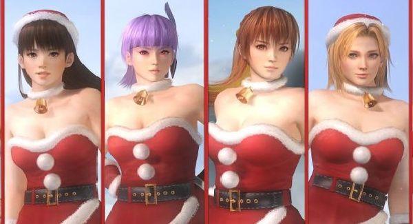 DOA Santa outfits