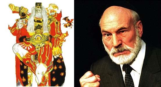 Emperor Gestahl - Patrick Stewart