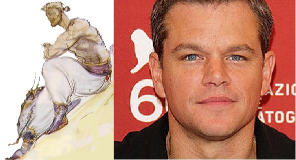 Sabin Figaro - Matt Damon