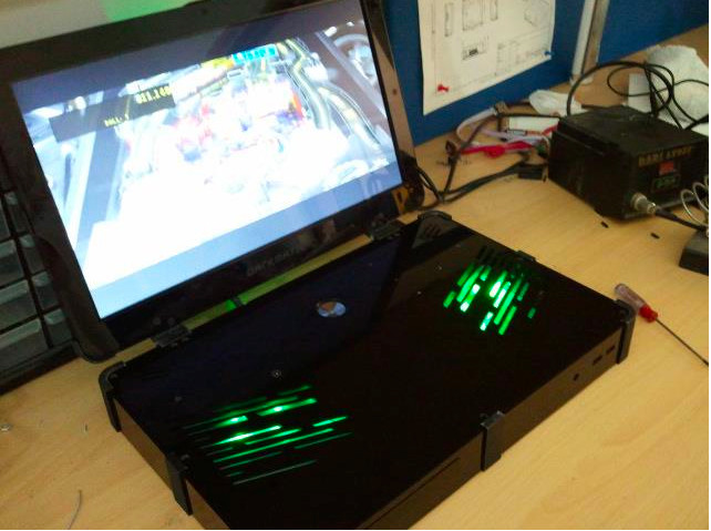 Pic of the Darkmatter laptop
