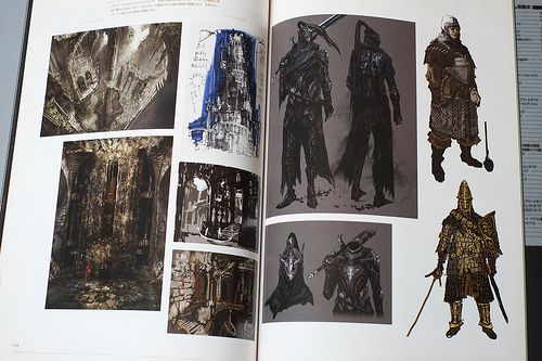 Dark souls art book lands this october gotgame for Dark souls 3 architecture