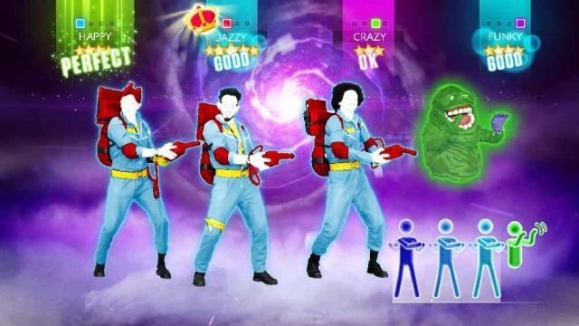 Just Dance 2014 to feature Ghostbusters characters.