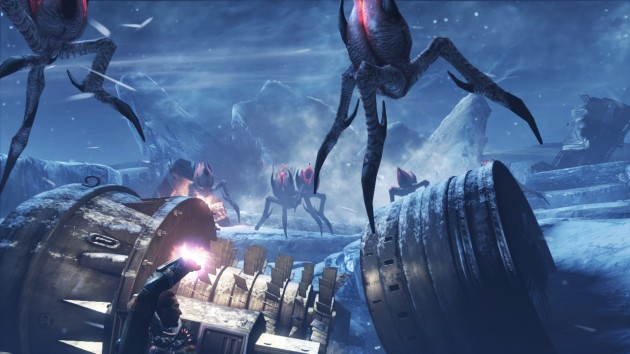 Hunk to appear as a pre-order bonus in Lost Planet 3.