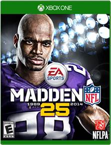 Madden 25 to make its debut as a launch title for Xbox One and PlayStation 4.