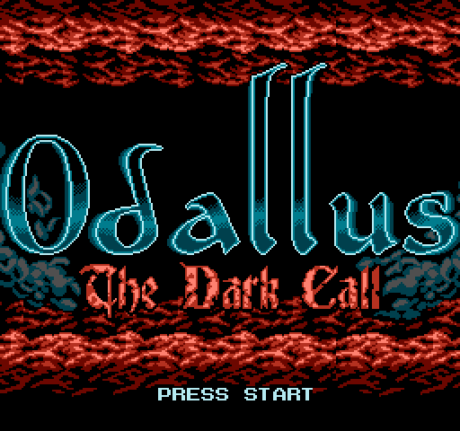 Odallus is a new 8-bit game that takes cues from classics like Castlevania.