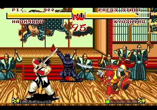 Samurai Shodown characters star in new South Korean runner game.