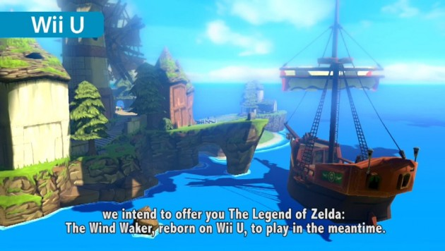 HD remake of Wind Waker will allow players to leave each other messages.
