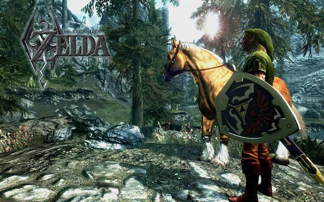 Zelda-Skyrim