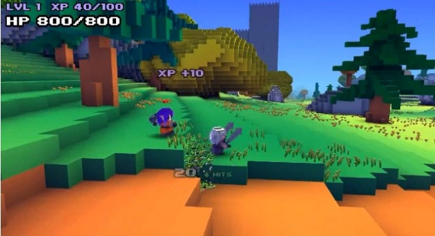 Cube World suffers DDoS attack.