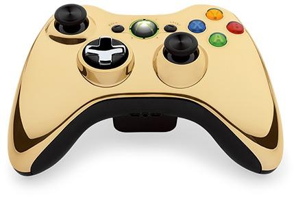 goldchromexboxcontroller