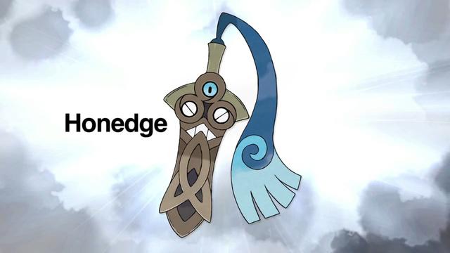 New Pokemon, Honedge, revealed.