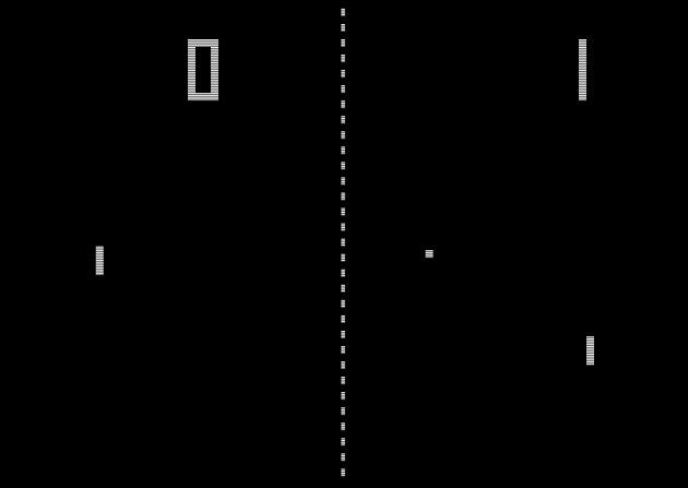 Gamebusters myth 1: Pong.