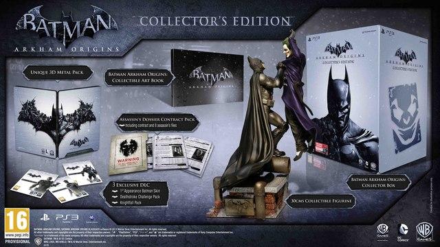 Batman: Arkham Origins Collector's Edition revealed.
