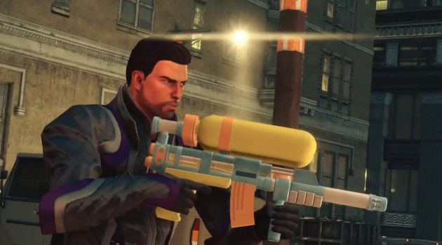 Saints Row IV snags top place in UK sales.