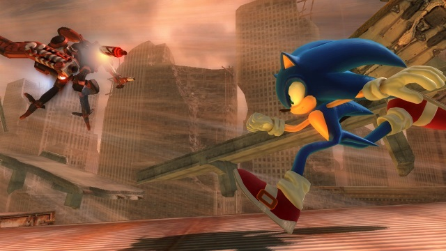 In 2006, you were not on our good sides, Mr. Sonic.