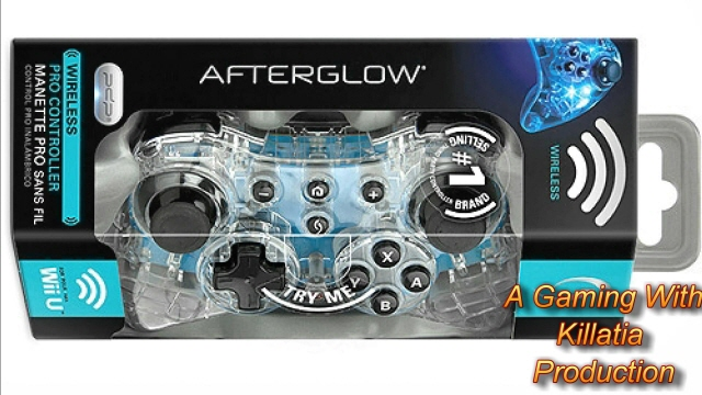 Afterglow WiiU Pro Controller