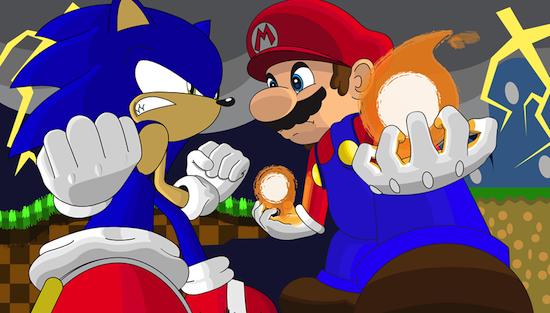 Mario_vs_Sonic_by_Wiiplayin