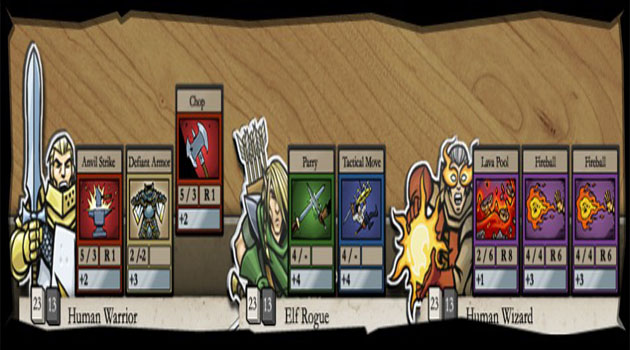 Card Hunter assembles a great team of talent for a free-to-play fun ride.