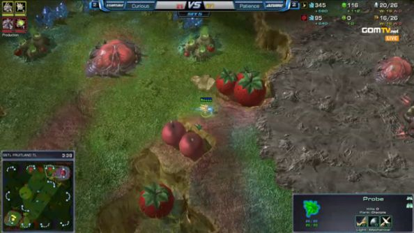 New StarCraft II map unveiled during South Korean tournament.