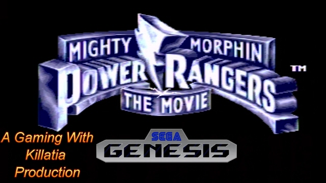 power rangers movie sega