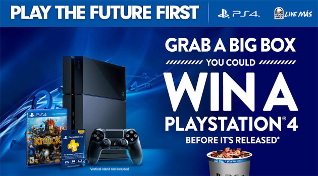 Taco Bell and Sony team up again.