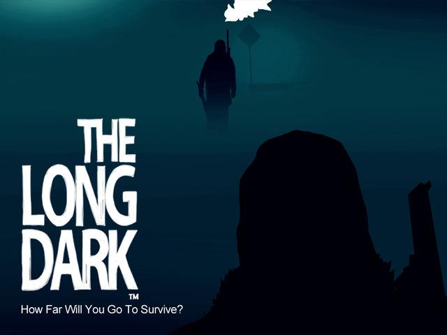 The Long Dark appears on Kickstarter.