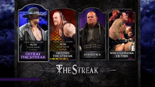 The Streak - WWE 2K14