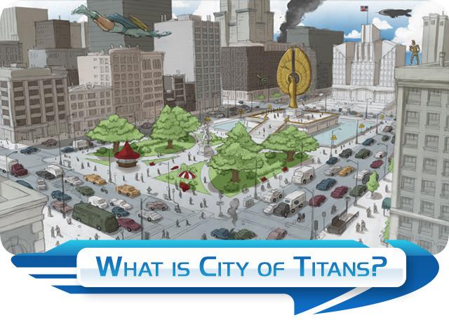 City of Titans appears on Kickstarter.