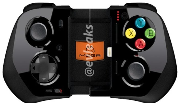 iPhone controller images leaked.