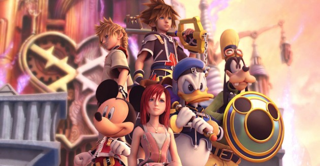 Kindom Hearts III art style discussed by Nomura.