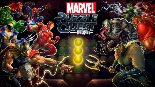 Marvel Puzzle Quest shows up on Mobile devices.