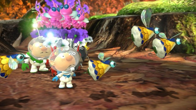 Pikmin 3 update to include free mission mode stage.