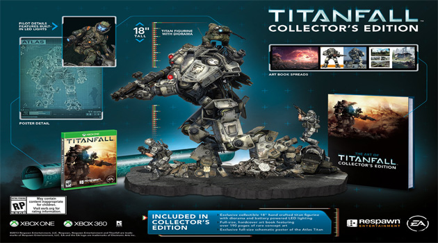 Titanfall Collector's Edition revealed.